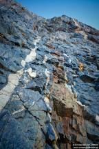 33. Vengen Gunnestadbreen détails roches colorées