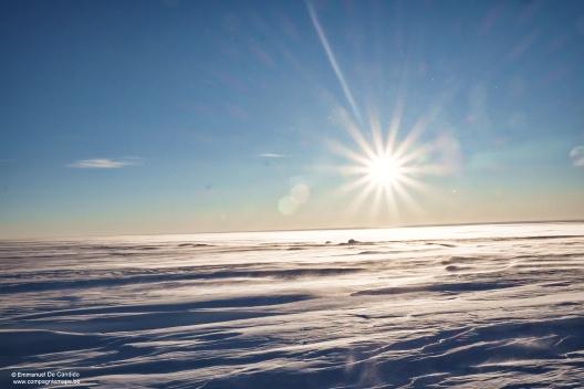 79. Traverse neige soleil